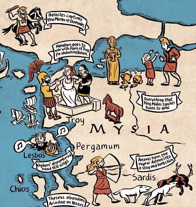 Mapa mitologia 4